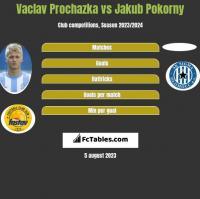 Vaclav Prochazka vs Jakub Pokorny h2h player stats