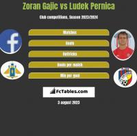 Zoran Gajic vs Ludek Pernica h2h player stats