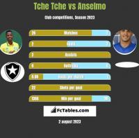 Tche Tche vs Anselmo h2h player stats