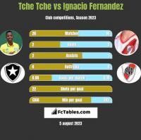 Tche Tche vs Ignacio Fernandez h2h player stats