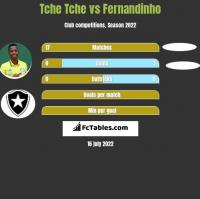 Tche Tche vs Fernandinho h2h player stats