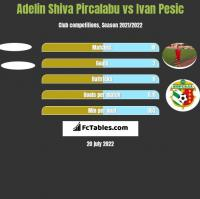 Adelin Shiva Pircalabu vs Ivan Pesic h2h player stats