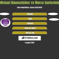 Michael Blauensteiner vs Marco Gantschnig h2h player stats