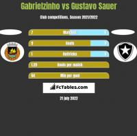 Gabrielzinho vs Gustavo Sauer h2h player stats