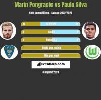 Marin Pongracic vs Paulo Silva h2h player stats