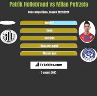 Patrik Hellebrand vs Milan Petrzela h2h player stats