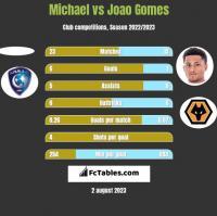 Michael vs Joao Gomes h2h player stats