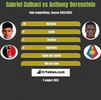 Gabriel Culhaci vs Anthony Berenstein h2h player stats