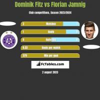 Dominik Fitz vs Florian Jamnig h2h player stats