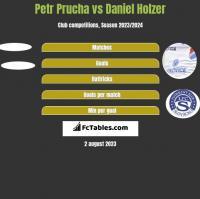 Petr Prucha vs Daniel Holzer h2h player stats