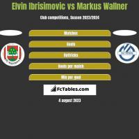 Elvin Ibrisimovic vs Markus Wallner h2h player stats