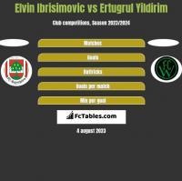 Elvin Ibrisimovic vs Ertugrul Yildirim h2h player stats