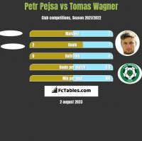 Petr Pejsa vs Tomas Wagner h2h player stats