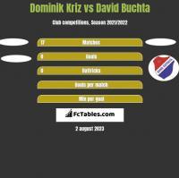 Dominik Kriz vs David Buchta h2h player stats