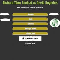 Richard Tibor Zsolnai vs David Hegedus h2h player stats